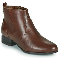 Schuhe Damen Low Boots Tamaris YAMILA Braun
