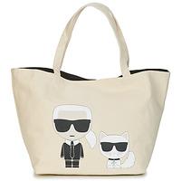 Taschen Damen Shopper / Einkaufstasche Karl Lagerfeld K/IKONIK KARL & CHOUPETTE TOTE Schwarz