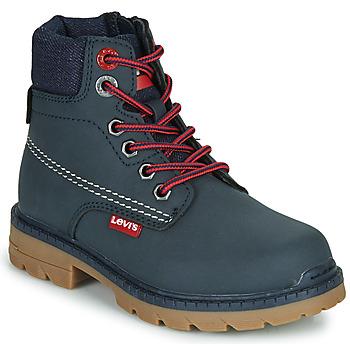 Schuhe Kinder Boots Levi's NEW FORREST Marine