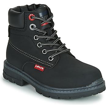 Schuhe Kinder Boots Levi's NEW FORREST Schwarz
