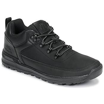 Schuhe Herren Sneaker Low Kappa MONSI LOW Schwarz