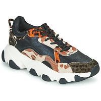 Schuhe Damen Sneaker Low Gioseppo ALEKSIN Schwarz / Orange