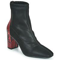Schuhe Damen Low Boots Gioseppo EGELN Schwarz / Rot