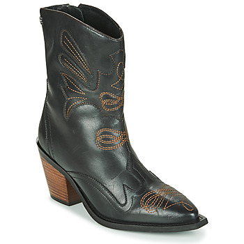 Schuhe Damen Low Boots Gioseppo SERAING Schwarz / Braun