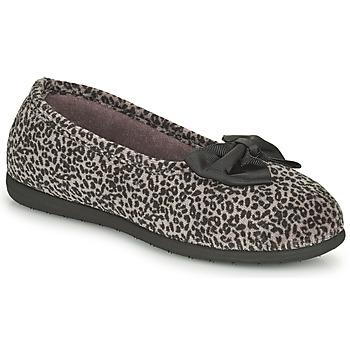 Schuhe Damen Hausschuhe Isotoner 97261 Leopard
