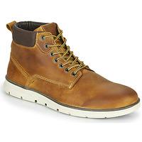 Schuhe Herren Boots Jack & Jones JFW TUBAR LEATHER Braun