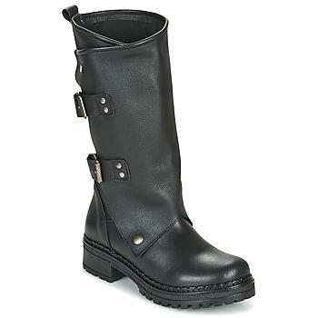 Schuhe Damen Klassische Stiefel Musse & Cloud MARVIN Schwarz