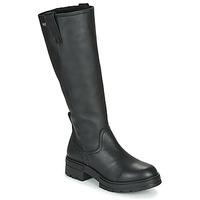 Schuhe Damen Klassische Stiefel Musse & Cloud GEORGETE Schwarz
