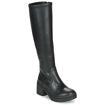 Schuhe Damen Klassische Stiefel Musse & Cloud KAILA Schwarz