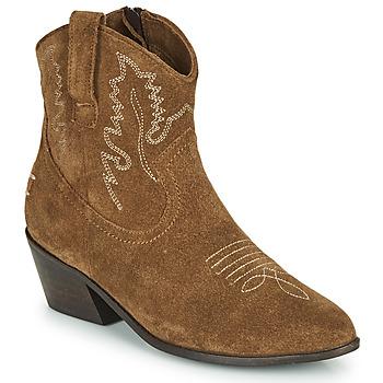 Schuhe Damen Low Boots Musse & Cloud DORISA Braun