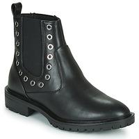 Schuhe Damen Boots Only ONLTINA 3 PU BOOT Schwarz