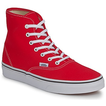 Schuhe Damen Sneaker High Vans AUTHENTIC HI Rot
