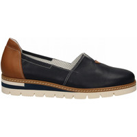 Schuhe Damen Slipper Alfredo Giantin PONY blu
