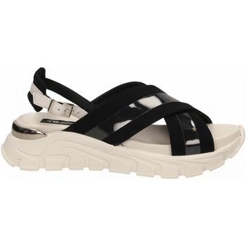 Schuhe Damen Sandalen / Sandaletten Tosca Blu PONZA c88-bianco-nero