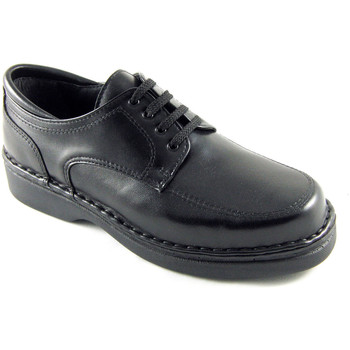 Schuhe Herren Derby-Schuhe Calzafarma Apotheke Schnürsenkel Mann besondere Bre Schwarz