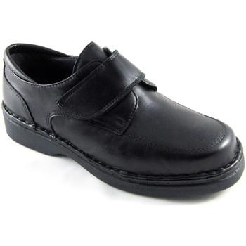 Schuhe Herren Slipper Calzafarma Apotheke Schuh Klettverschluss Mann beso Schwarz