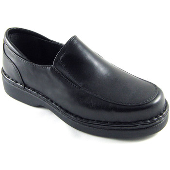 Schuhe Herren Slipper Calzafarma Apotheke Herrenschuh besondere Breite se Schwarz