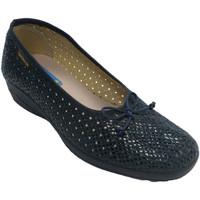 Schuhe Damen Hausschuhe Made In Spain 1940 Durchbrochene Frauenschuhwohnungen Alber Blau