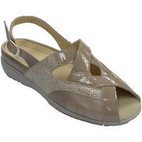 Schuhe Damen Sandalen / Sandaletten Doctor Cutillas Spezielle Damensandalen für Einlegesohle Beige