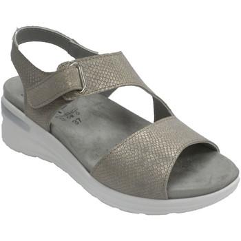 Schuhe Damen Sandalen / Sandaletten Made In Spain 1940 Frauensandale sehr weiche Pflanze Lumel Gold