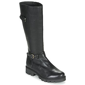 Schuhe Damen Klassische Stiefel Pataugas CORA F4F Schwarz
