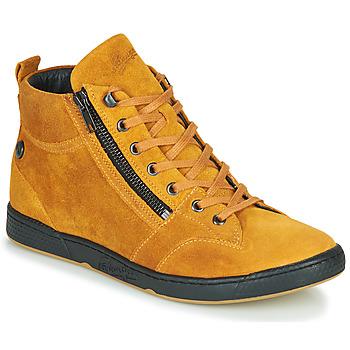 Schuhe Damen Sneaker High Pataugas JULIA/CR F4F Ocker