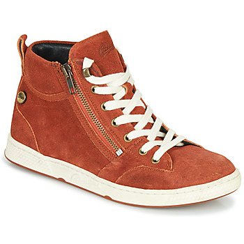 Schuhe Damen Sneaker High Pataugas JULIA/CR F4F Orange