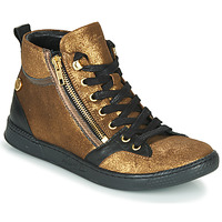 Schuhe Damen Sneaker High Pataugas JULIA/CR F4F Gold