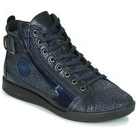 Schuhe Damen Sneaker High Pataugas PALME/C F4F Marine