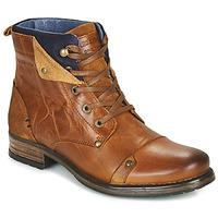 Schuhe Jungen Boots Redskins YEDES CADET Cognac