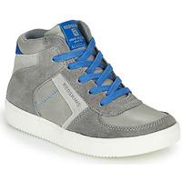 Schuhe Jungen Sneaker High Redskins LAVAL KID Grau / Blau