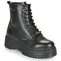 Schuhe Damen Boots Refresh 72541 Schwarz