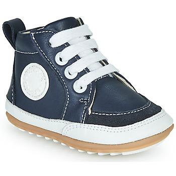Schuhe Kinder Sneaker High Robeez MIGO Marine