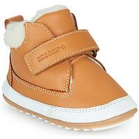 Schuhe Kinder Boots Robeez MIKRO SHOW Cognac