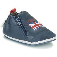 Schuhe Kinder Hausschuhe Robeez LONDON FLAG Marine