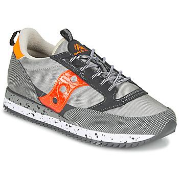 Schuhe Sneaker Low Saucony JAZZ (PEAK) Grau / Rot / Orange