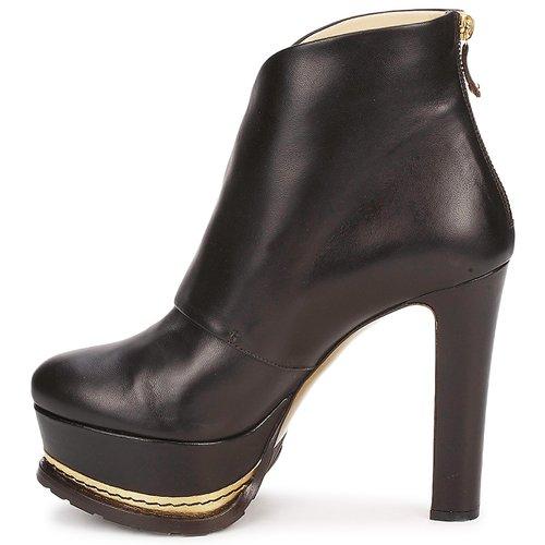 Moschino Moschino Moschino MA2104 Dark / Braun  Schuhe Low Boots Damen 681,60 408ccd