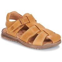Schuhe Jungen Sandalen / Sandaletten Citrouille et Compagnie MELTOUNE Senf