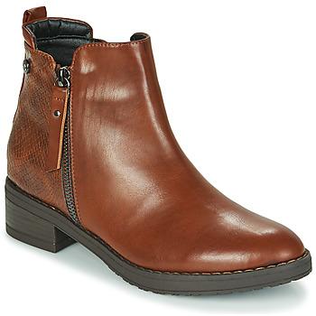 Schuhe Damen Boots Xti 44721 Braun