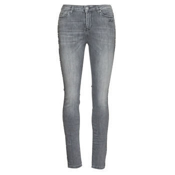 Kleidung Damen Slim Fit Jeans Karl Lagerfeld SKINNY DENIMS W/ CHAIN Grau