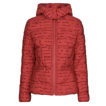 Kleidung Damen Daunenjacken Desigual NATASHA Rot