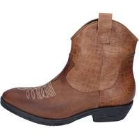 Schuhe Damen Low Boots Impicci BM181 Braun