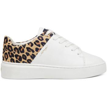 Schuhe Damen Sneaker Low Ed Hardy - Wild low top white leopard Weiss
