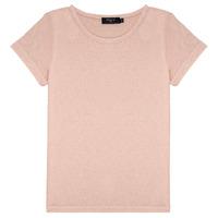Kleidung Mädchen T-Shirts Deeluxe GLITTER Rose