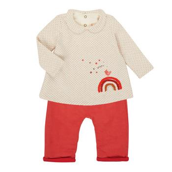 Kleidung Mädchen Kleider & Outfits Catimini CR36031-60 Rose