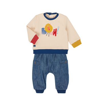 Kleidung Jungen Kleider & Outfits Catimini CR36050-46 Multicolor