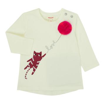 Kleidung Mädchen Langarmshirts Catimini CR10063-11 Rose
