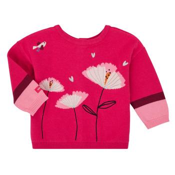 Kleidung Mädchen Strickjacken Catimini CR18033-35 Rose