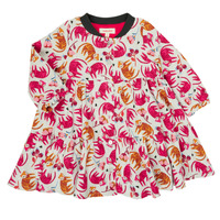 Kleidung Mädchen Kurze Kleider Catimini CR30093-35 Multicolor