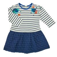 Kleidung Mädchen Kurze Kleider Catimini CR30133-12 Multicolor